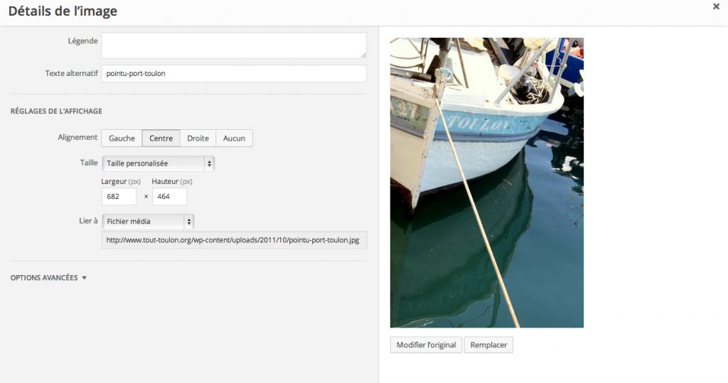 Edition d'images ou de photo simplifiée dans WordPress 3.9